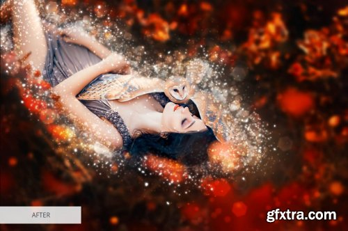 CreativeMarket - Shimmer Photoshop Action 4870504