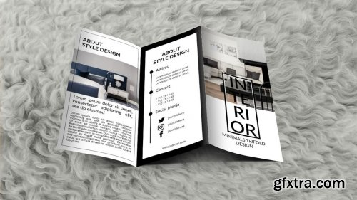 INTERIOR - Trifold Brochure Template
