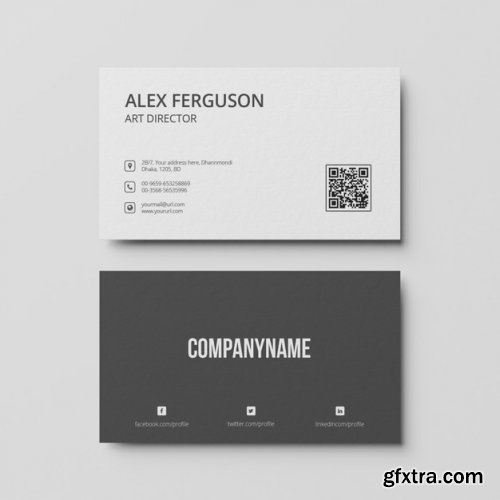 Business card template 2