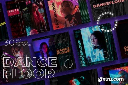CreativeMarket - Dance Floor - Instagram Template 5111033