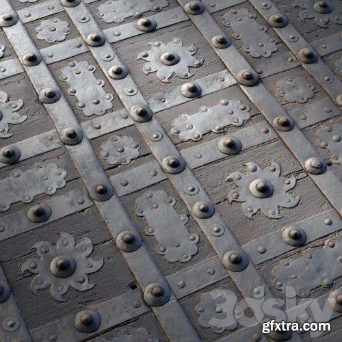 Metal: Medieval Iron Door