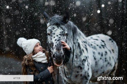 CreativeMarket - Snow Photo Overlays 4942645