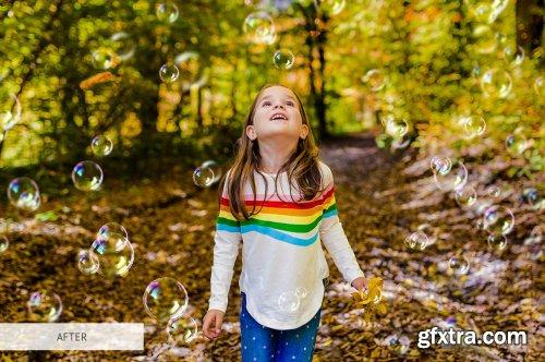 CreativeMarket - Bubbles Overlays Photoshop 4942673