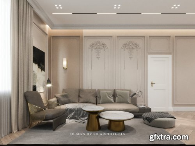 Apartment Interior Scene By Huynh Si Dan