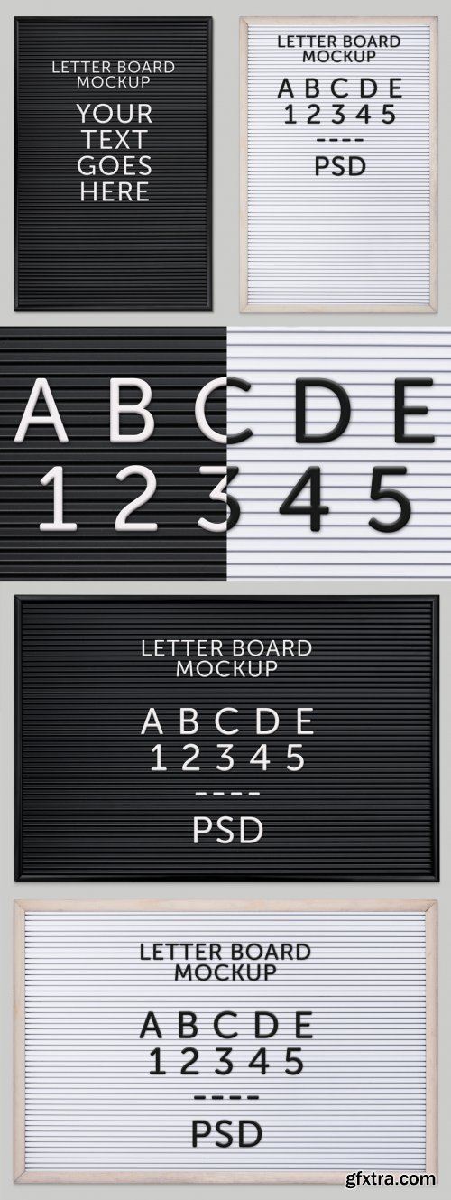 Letterboard Text Effect 380431405