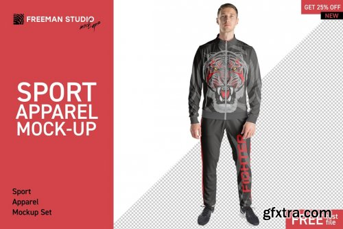 CreativeMarket - Sport Apparel Mock-Up Set 4503728