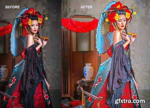 CreativeMarket - Festival Oil Art Photoshop Action 5340252