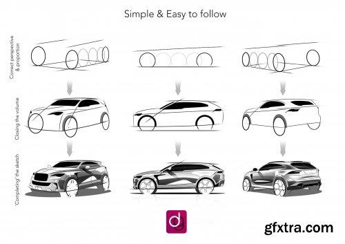 Class 2: Sketch like a Pro Car Designer