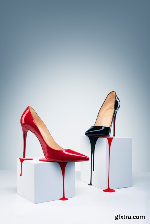 Photigy - Glossy Shoes: Advertising Product Photography