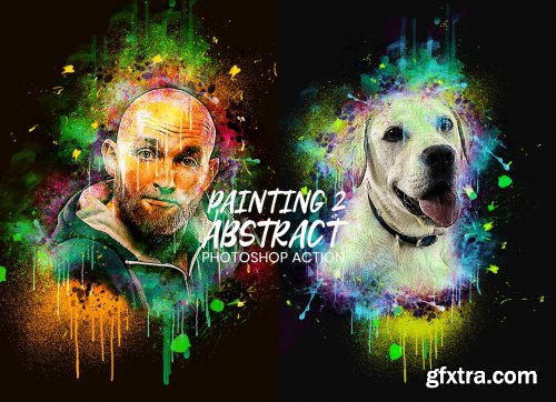 CreativeMarket - Abstract Painting Action 2 4867433