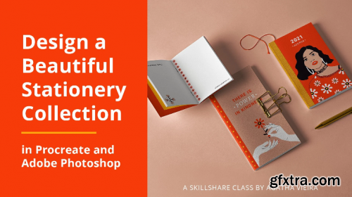Design a Beautiful Stationery Set in Procreate and Adobe Photoshop