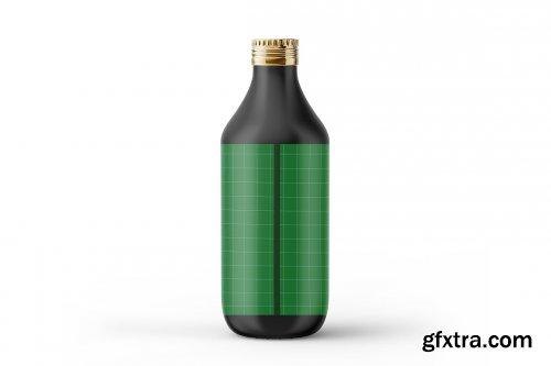 CreativeMarket - Olive Oil Bottle Mockup 5386497