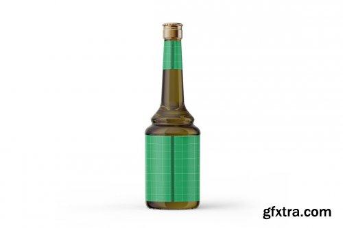 CreativeMarket - Olive Oil Bottle Mockup 5386537