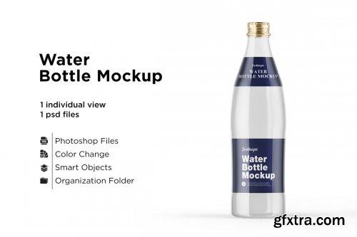 CreativeMarket - Water Bottle Mockup 5436753
