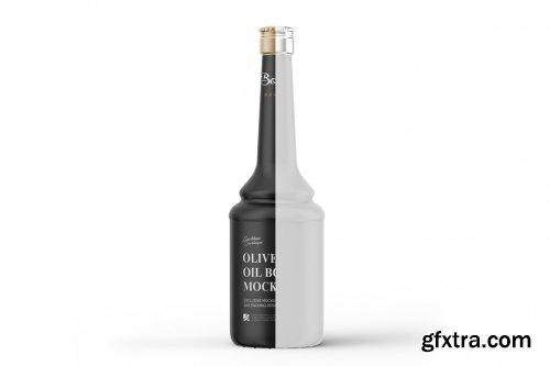 CreativeMarket - Olive Oil Bottle Mockup 5386560