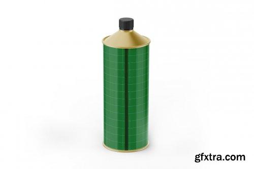 CreativeMarket - Olive Oil Bottle Mockup 5436772
