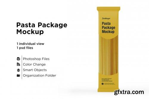 CreativeMarket - Pasta Package Mockup 5436928