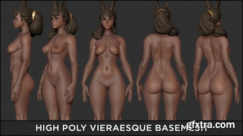 ArtStation – BASEMESH HIGH – Vieraesque