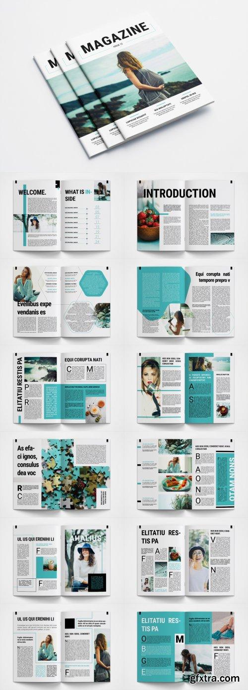 Creative Magazine Layout 379725976
