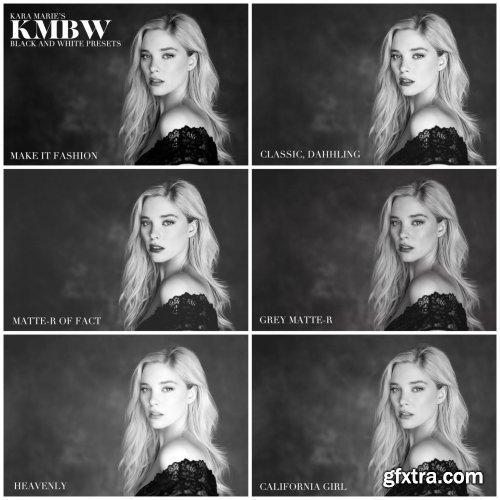Kara Marie's Badass B+W Lightroom Preset Collection