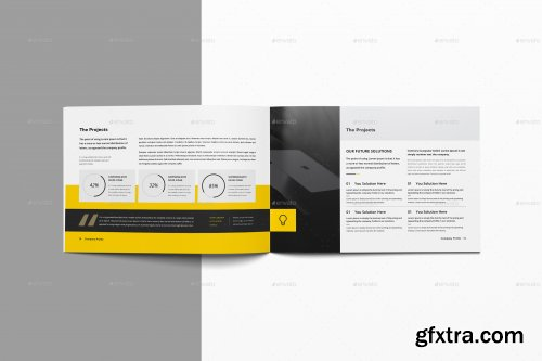 GraphicRiver - Company Profile 16 Pages Landscape 27749135