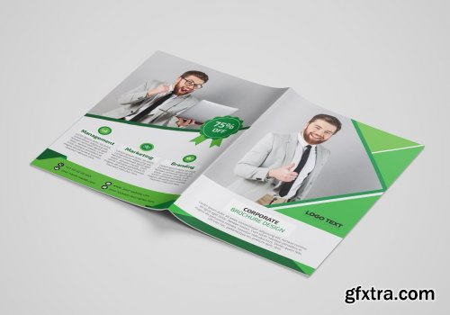 CreativeMarket - Creative Business Brochure Template 4522298