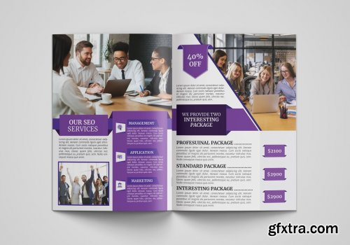 CreativeMarket - Corporate Business Brochure Template 4522308