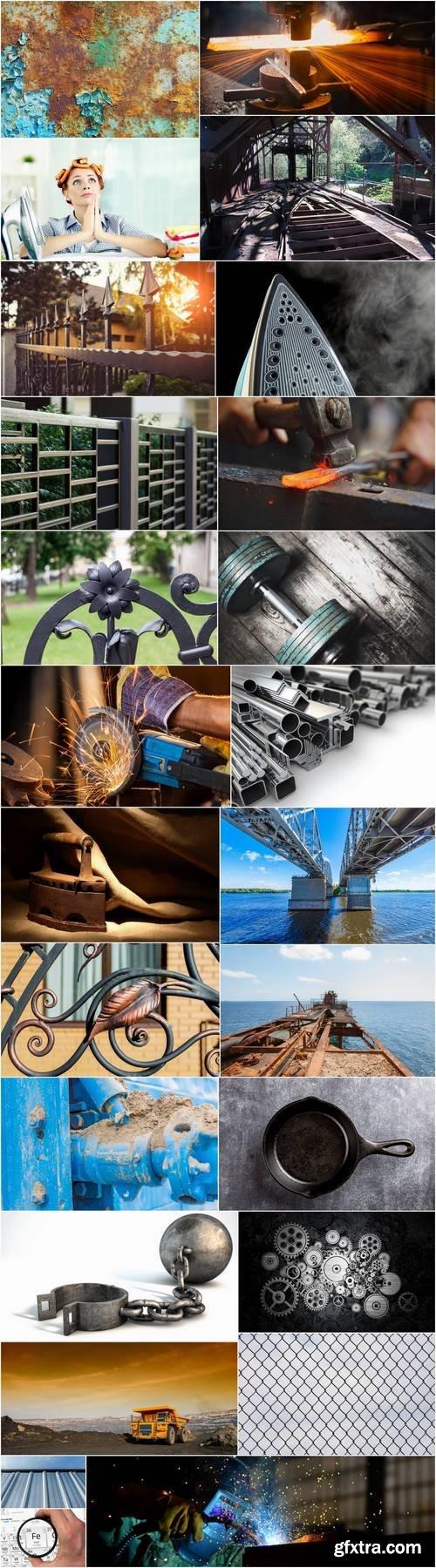 Articles of iron metal tin watering iron steel 25 HQ Jpeg