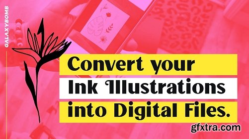Traditional to Digital: Easily Convert your Ink Illustrations into Digital Vector Format