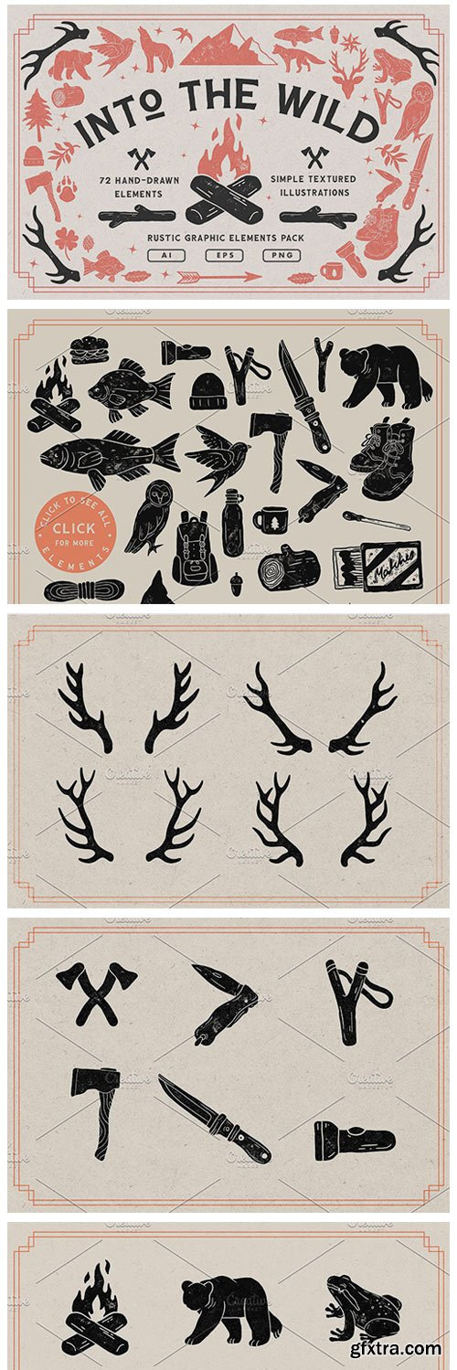 CM - Handcrafted Vintage Rustic Elements 4907310