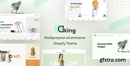 ThemeForest - Dking v1.0.0 - Multipurpose eCommerce Shopify Theme - 28713243