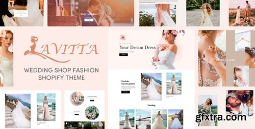 ThemeForest - Lavitta v1.0.0 - Wedding Shop Fashion Responsive Shopify Theme - 27853920