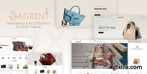 ThemeForest - Bagkin v1.0.0 - Handbags & Shopping Clothes Responsive Shopify Theme - 28192887