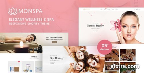 ThemeForest - Monspa v1.0.0 - Elegant Wellness And Spa Responsive Shopify Theme - 28505025