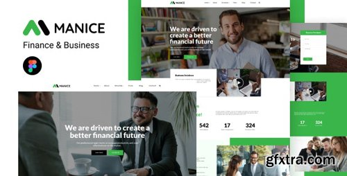 ThemeForest - Manice v1.0 - Business Figma Template - 28700022