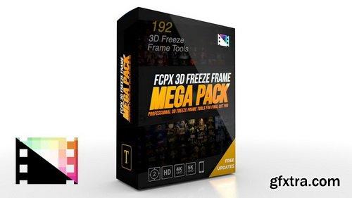 Pixel Film Studios - FCPX 3D Freeze Frame Mega Pack