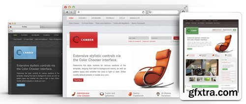 RocketTheme - Camber v1.16 - Joomla Theme (Update: 1 April 2020)