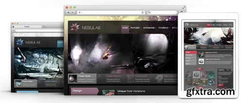 RocketTheme - Nebulae v1.16 - Joomla Theme (Update: 1 April 2020)