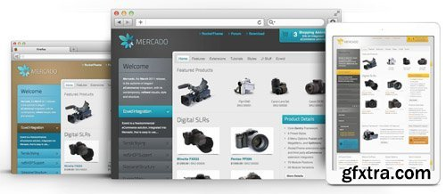 RocketTheme - Mercado v1.14 - Joomla Theme (Update: 1 April 2020)