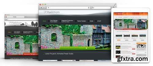 RocketTheme - Maelstrom v1.12 - Joomla Theme (Update: 1 April 2020)