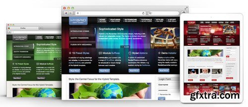 RocketTheme - Hybrid v1.12 - Joomla Theme (Update: 1 April 2020)