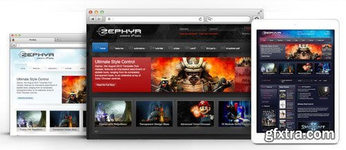 RocketTheme - Zephyr v1.12 - Joomla Theme (Update: 1 April 2020)