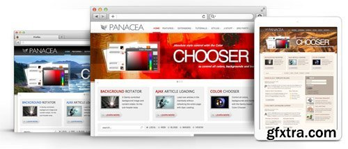 RocketTheme - Panacea v1.12 - Joomla Theme (Update: 1 April 2020)