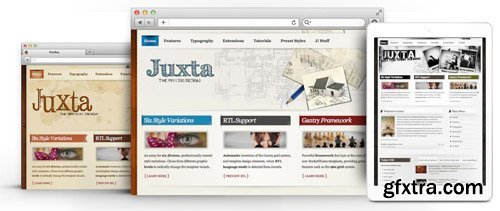 RocketTheme - Juxta v1.10 - Joomla Theme (Update: 1 April 2020)