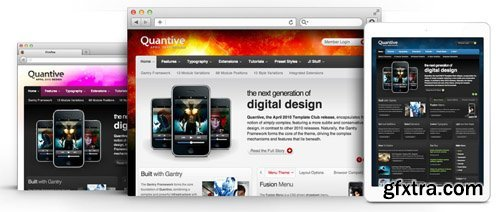 RocketTheme - Quantive v1.11 - Joomla Theme (Update: 1 April 2020)