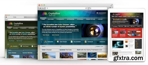 RocketTheme - Crystalline v1.9 - Joomla Theme (Update: 1 April 2020)