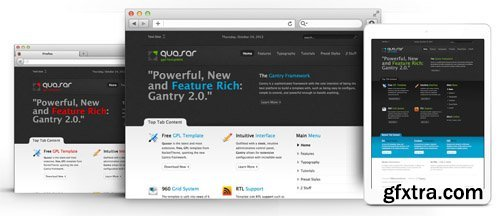 RocketTheme - Quasar v1.7 - Joomla Theme (Update: 1 April 2020)