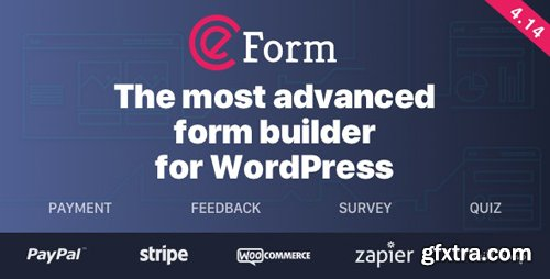 CodeCanyon - eForm v4.14.2 - WordPress Form Builder - 3180835 - NULLED + eForm Add-Ons