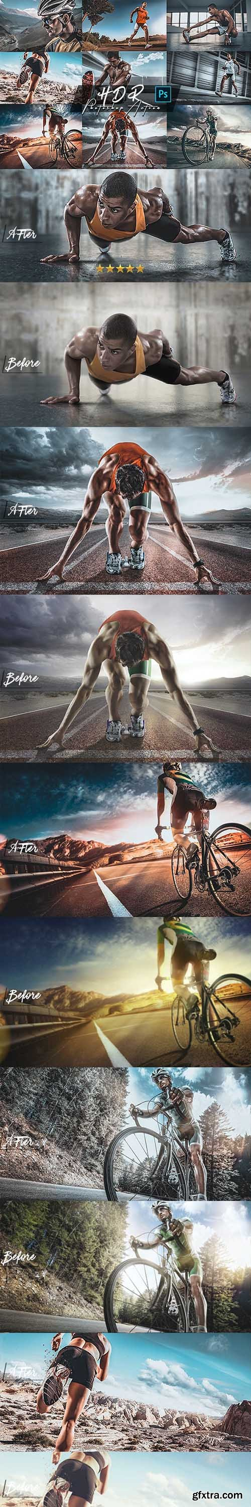 GraphicRiver - HDR Photoshop Action 25850209