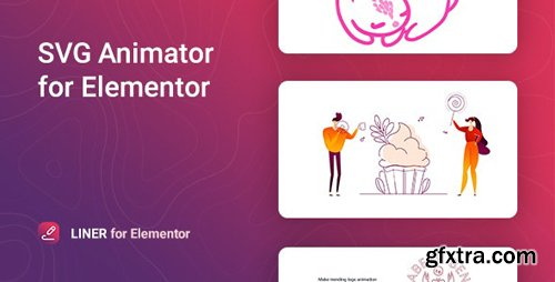 CodeCanyon - Liner v1.0.0 - SVG Animation for Elementor - 28794989